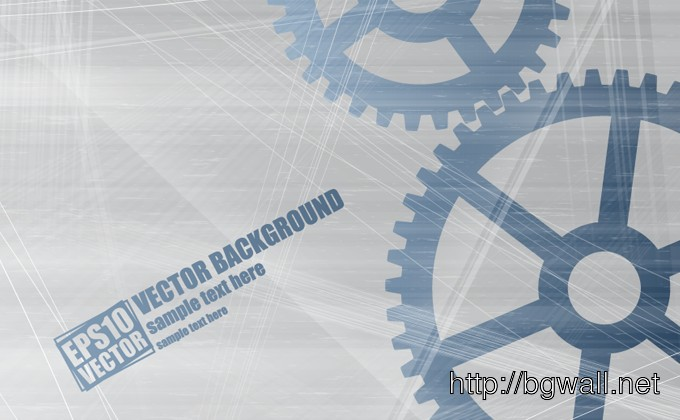 Vector Gear Background Full Size