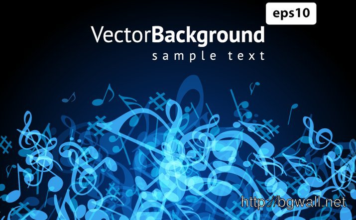 Vector Music Background Full Size