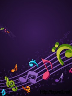 Vector Musical Background Full Size