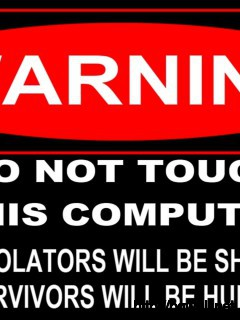 Warning Sign Wallpaper 5407 Full Size