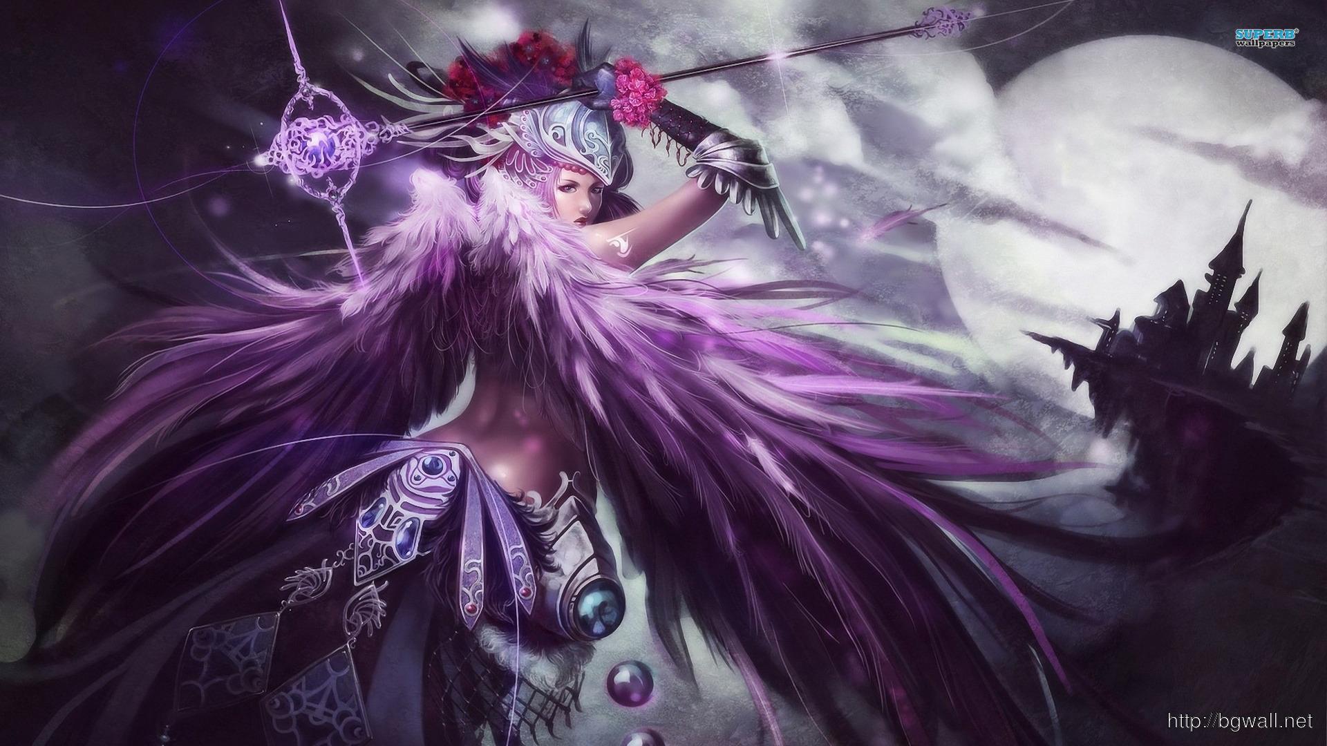 Warrior Angel Wallpaper Full Size