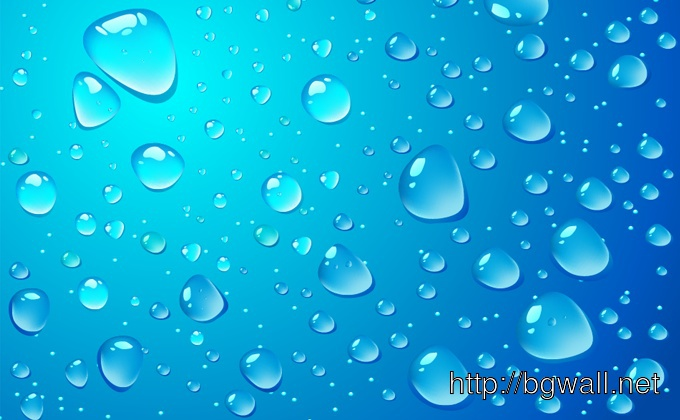 Water Drop Vector Background Full Size