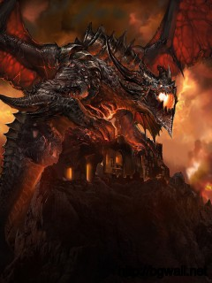 World Of Warcraft Fire Dragon Monster Wallpapers 1680x1022 Pixel Full Size