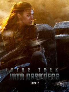 Zoe Saldana In Star Trek Into Darkness Wallpaper Full Size