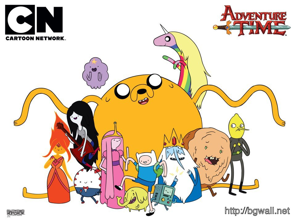 Adventure Time characters Wallpaper