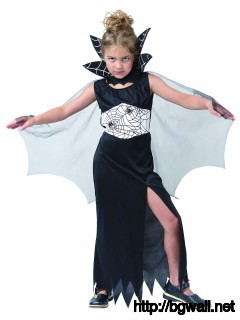 Kids Costumes Halloween Spidery Witch Costume