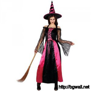 Pretty Pink Halloween Witch Costumes