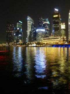 Singapore Time Wallpaper