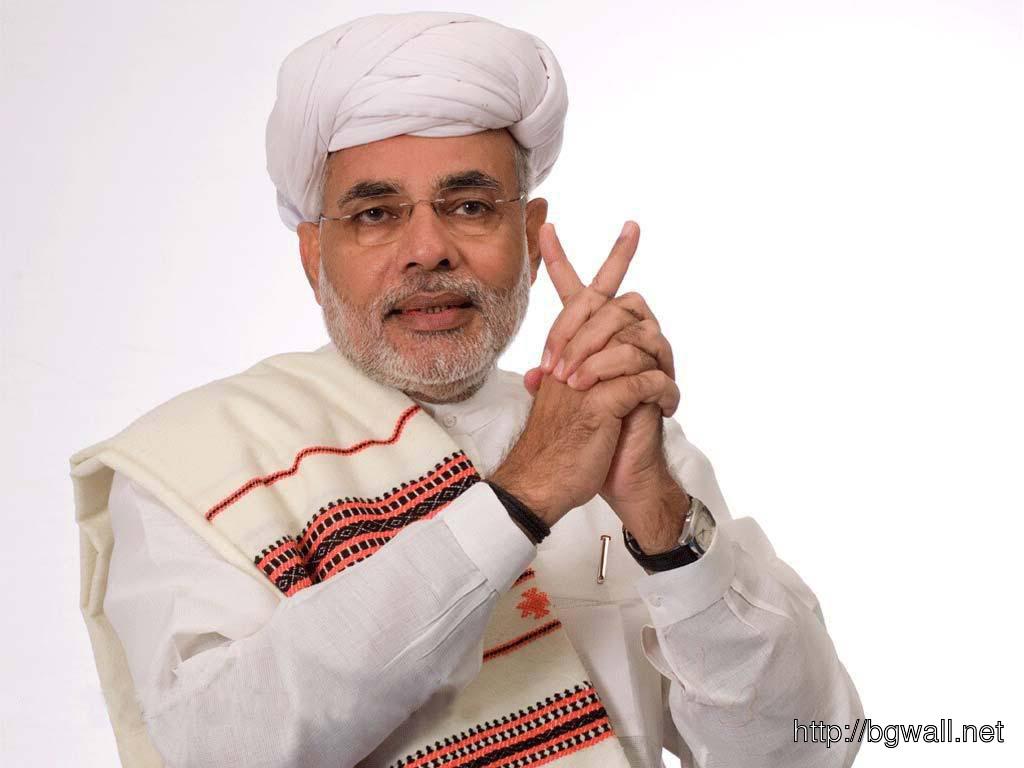 Narendra Modi In Traditional Dress