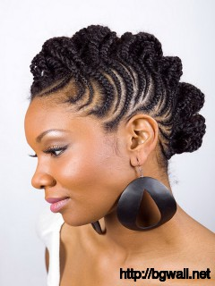 Black-Braided-Hairstyle-Ideas-for-Short-Hair