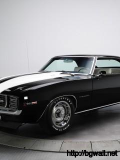 Black-Camaro-1969--Wallpaper