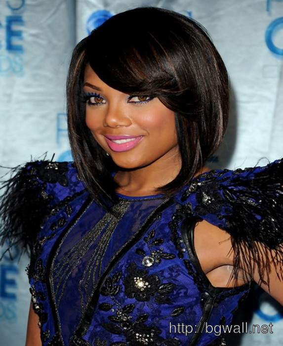 Black Hairstyle Ideas With Bangs 2014