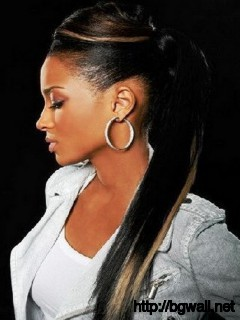 Black-Ponytail-Hairstyle-Ideas-with-Weave