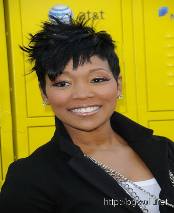 Black Women Short Hairstyle Ideas For Oval Face