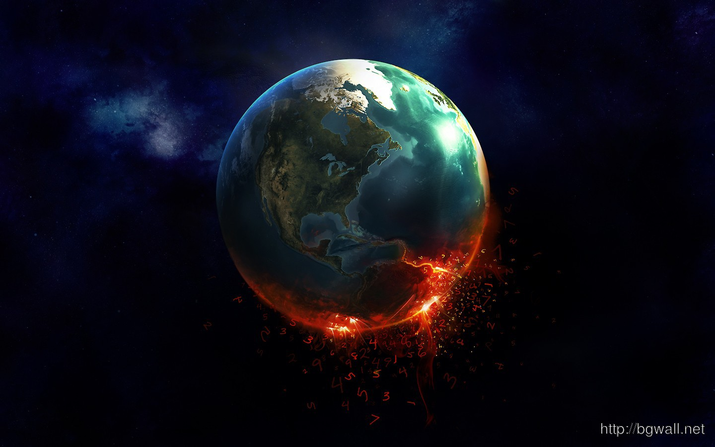 Burning-Earth-HD-Wallpaper