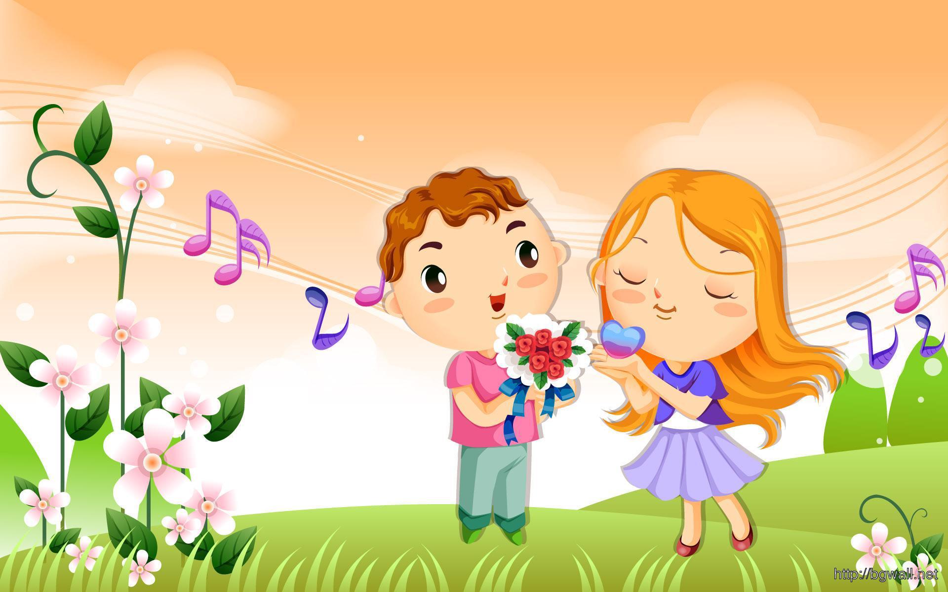 Cute-Couple-Cartoons-Wallpaper