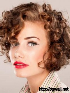 Terrific Pretty Hairstyle Ideas For Short Curly Hair Background Wallpaper Hd Hairstyles For Women Draintrainus