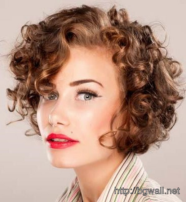 Cute Hairstyle Ideas For Really Short Curly Hair – Background Wallpaper HD