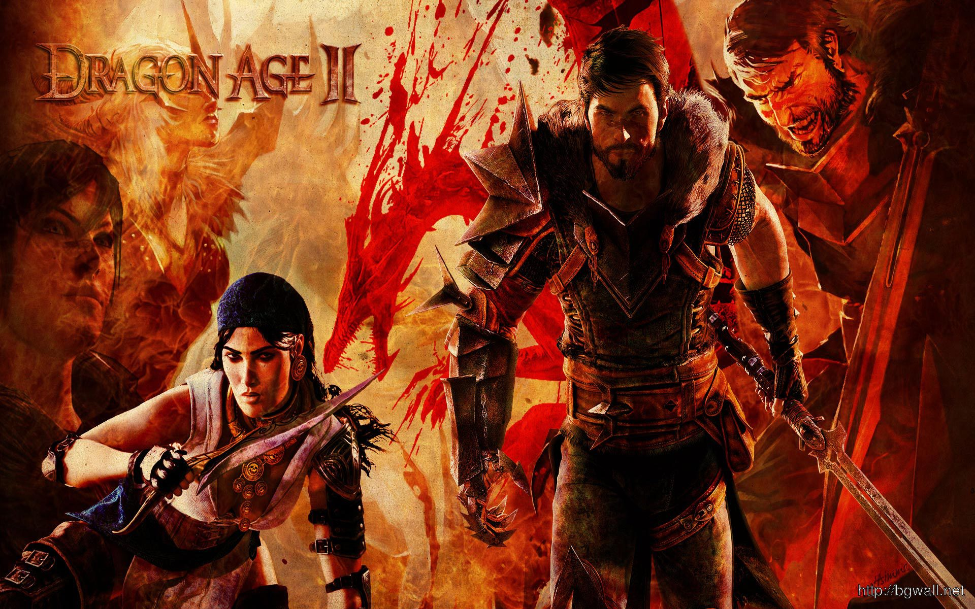 Dragon Age 2 1920x1200 Wallpaper