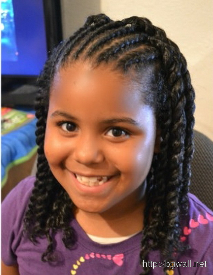 easy braid hairstyles for kids : Easy Black Girl Hairstyle Ideas ? Background Wallpaper HD