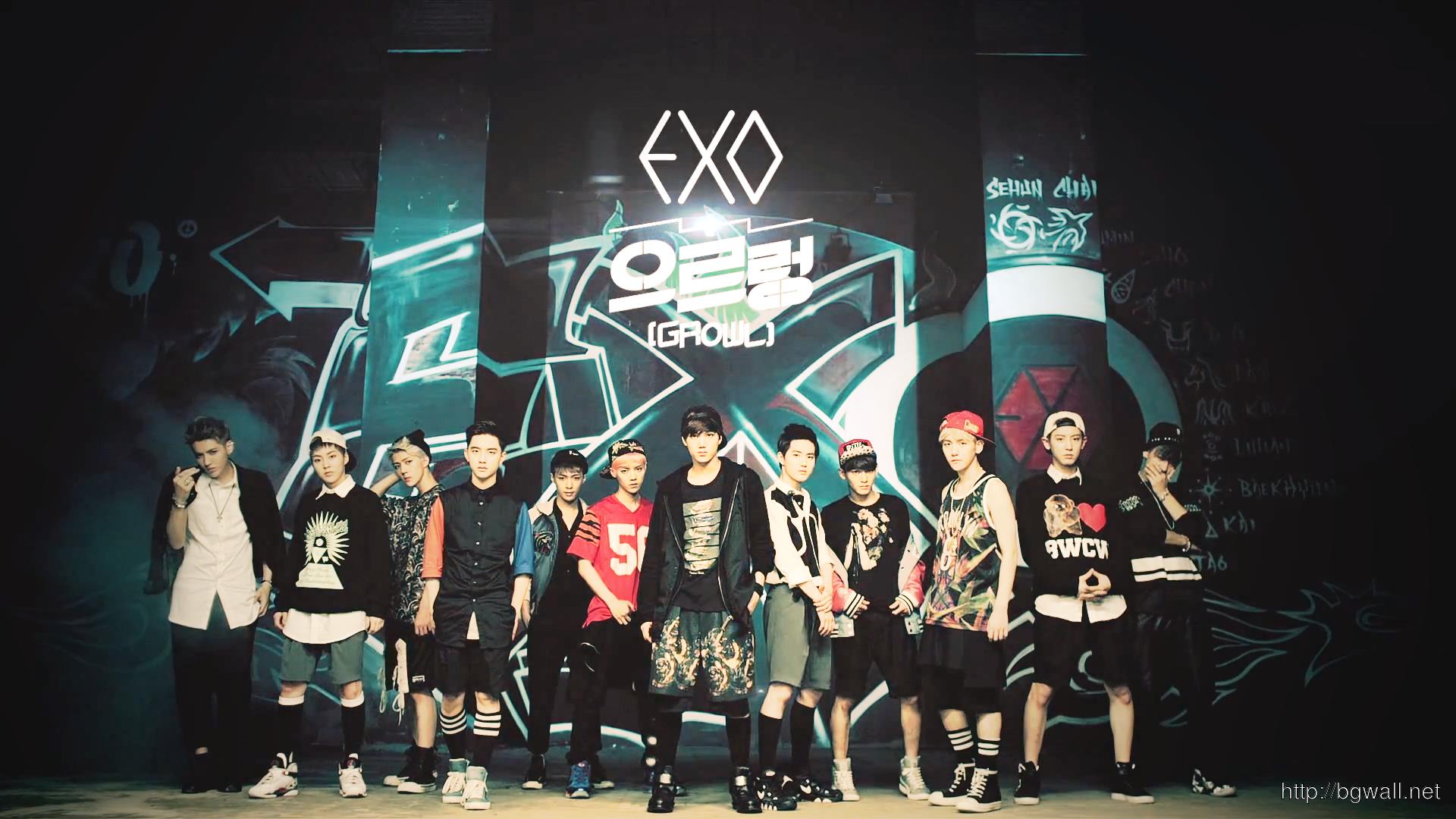 EXO-Growl--Wallpaper