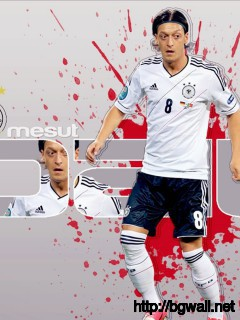 Germany Ozil World Cup 2014 Wallpaper