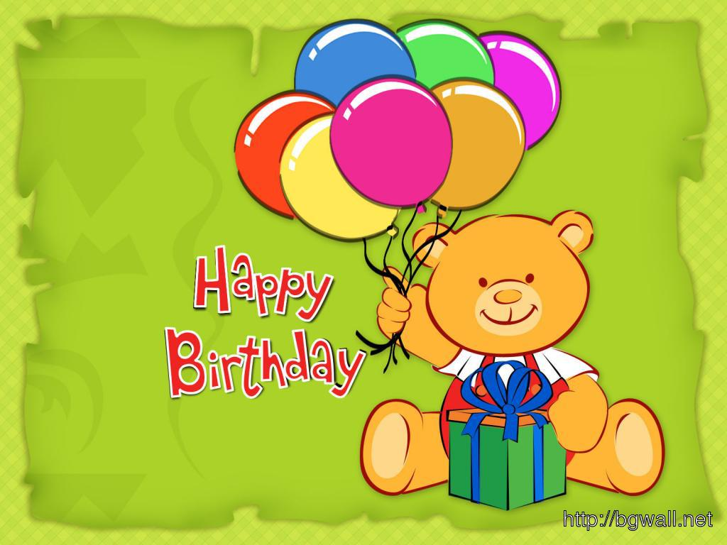 Happy-Birthday-With-Ballon-Teddy-Wallpaper