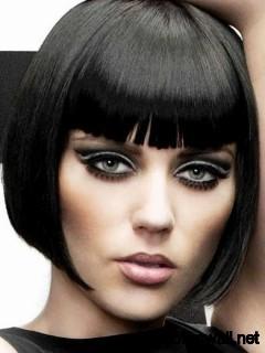 jet-black-short-hair