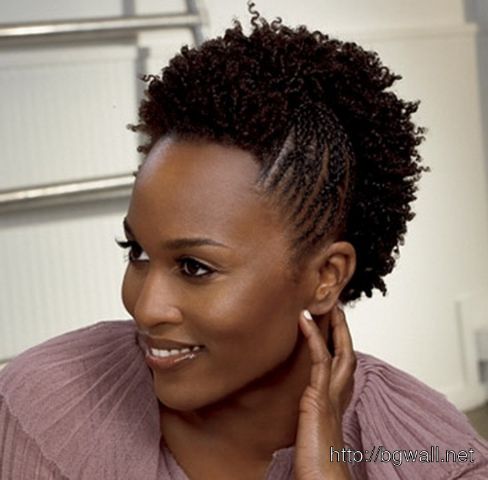 Natural Hairstyle Ideas For Black Women With Kinky Hair
