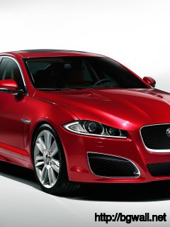 Red-Jaguar-XF-2014-Wallpaper