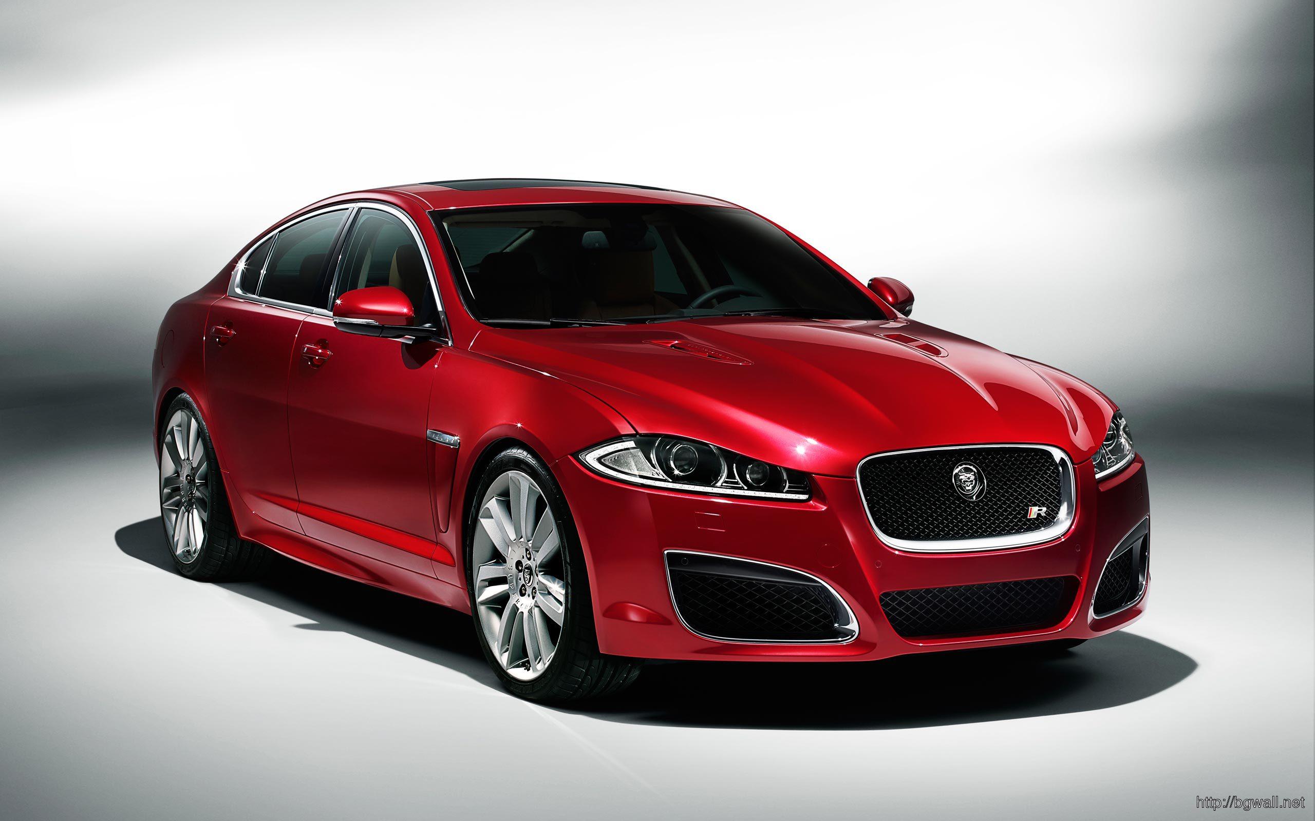 Red-Jaguar-XF-2014-Wallpaper