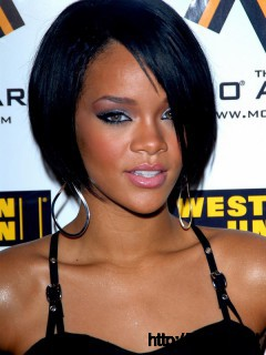 rihanna-black-short-hair