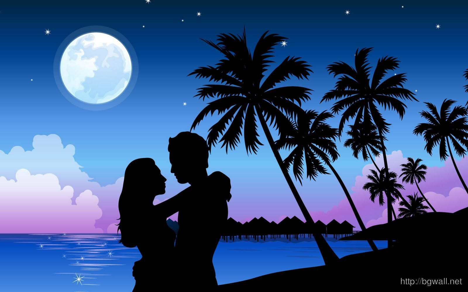 Romantic Couple HD Wallpaper