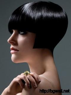 short-black-hair-color