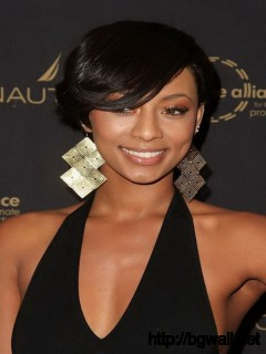 Short-Black-Hairstyle-Ideas-for-Round-Faces