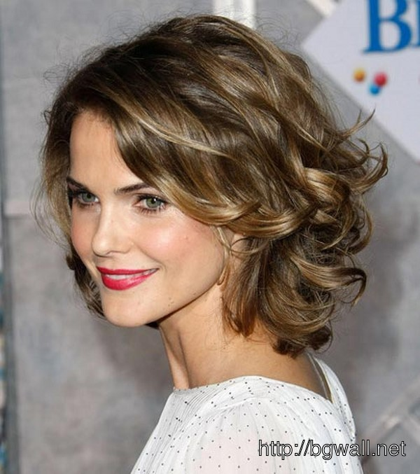 Short Hairstyle Ideas For Round Faces And Curly Hair