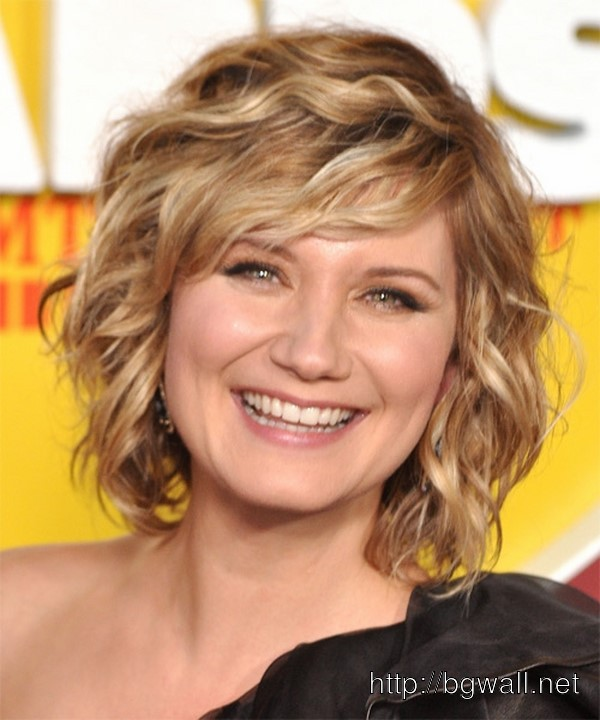 Short Fine Curly Hair Haircuts Hairstyles For Wavy Women Idea