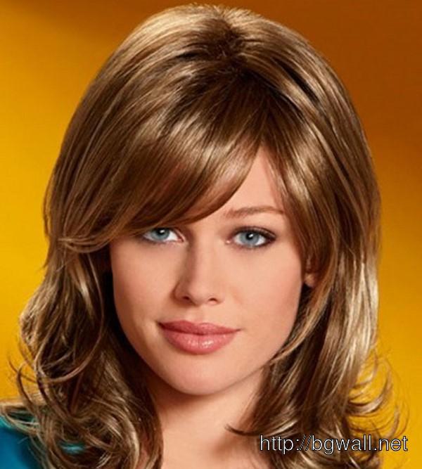Фотография стрижек для средней длины волос