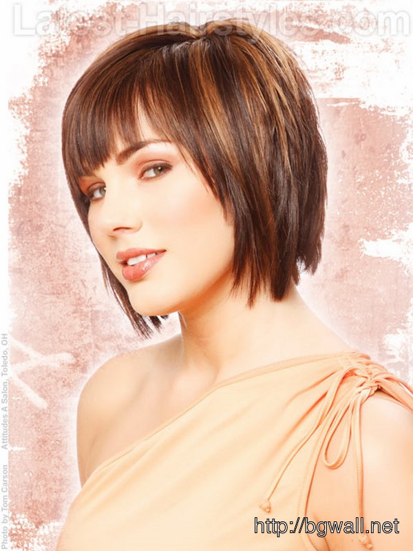 Cute Short Layered Hairstyle Ideas
