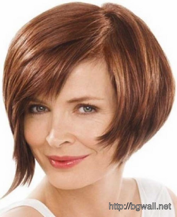 short stacked hairstyle ideas for thin hair background