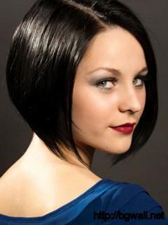 short-straight-black-hairstyle-ideas