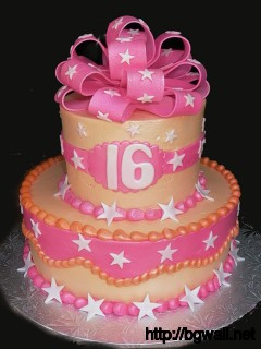 Sweet 16 Birthday Cake Ideas Pic