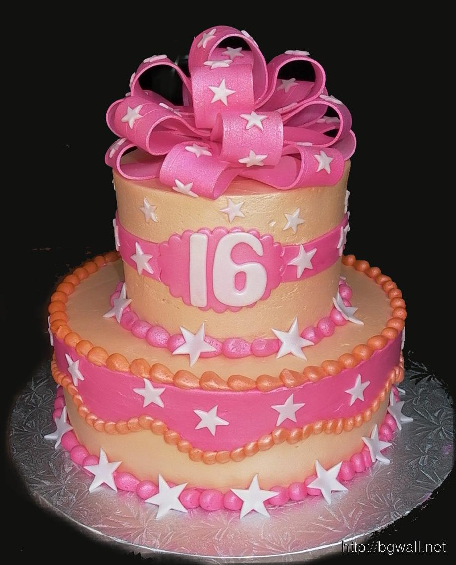 Sweet 16 Birthday Cake Ideas Pic