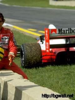 Ayrton Senna Off Road Wallpaper