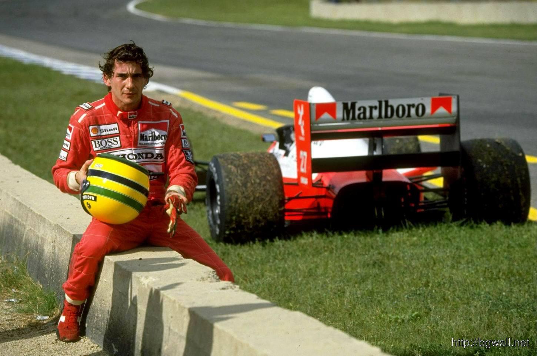Ayrton Senna Off Road Wallpaper
