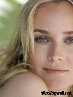 Diane Kruger Nature Wallpaper