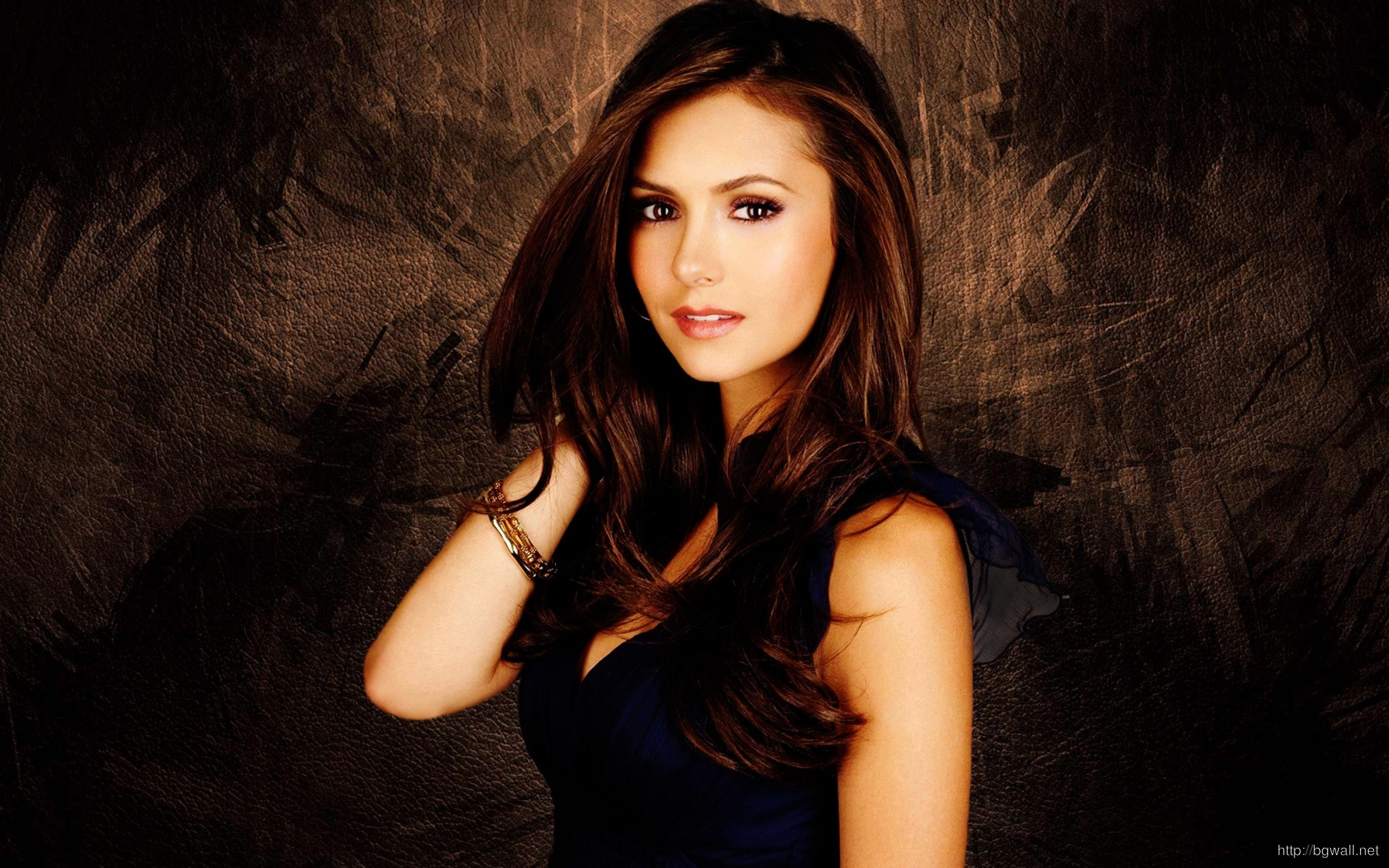 Gorgeous Nina Dobrev Wallpaper