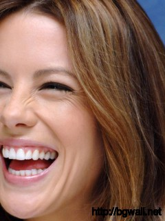 Kate Beckinsale Laughing Out Loud Photo