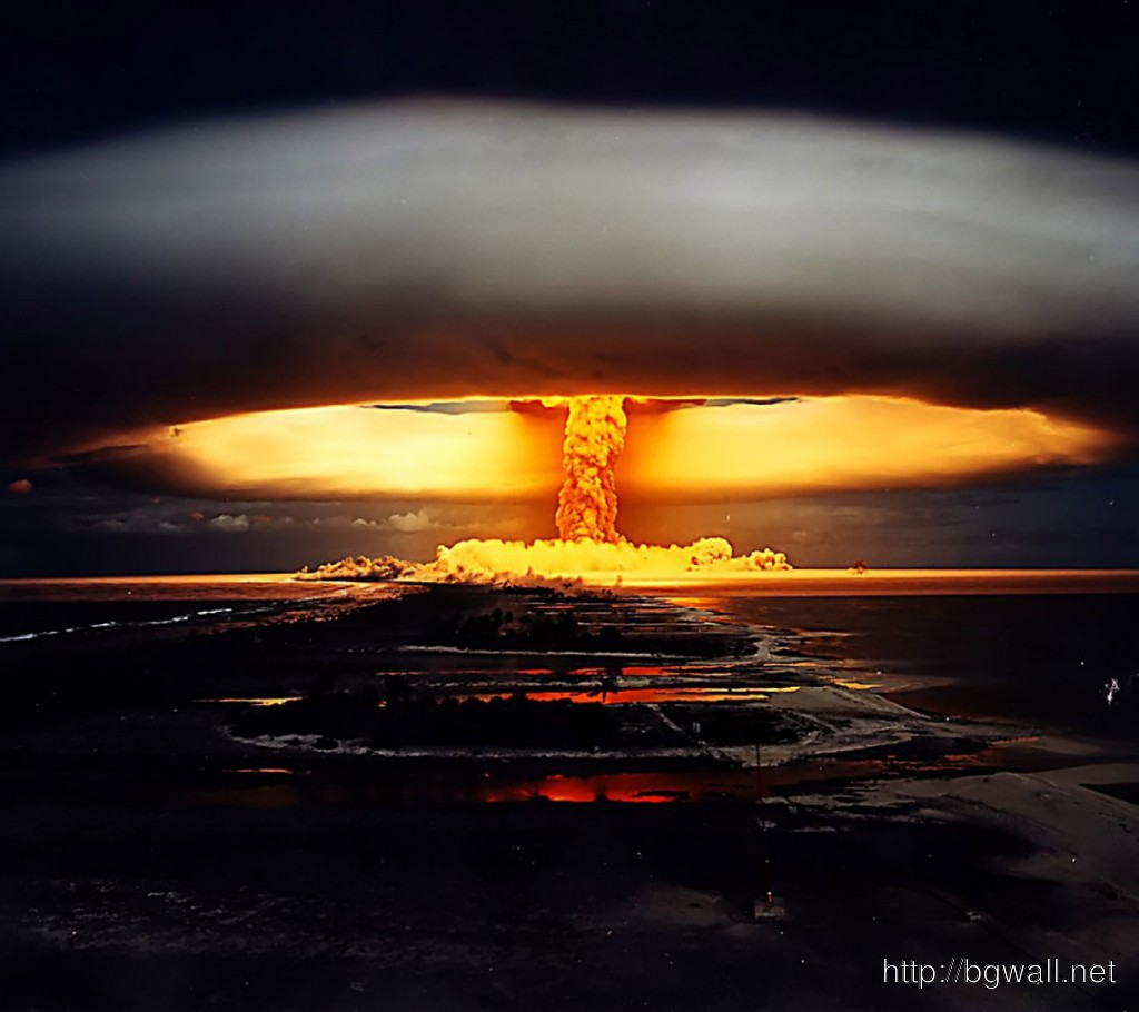 Nuclear Explosion Hd Photo