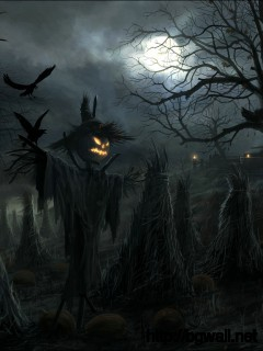Wallpaper Terror Night Halloween